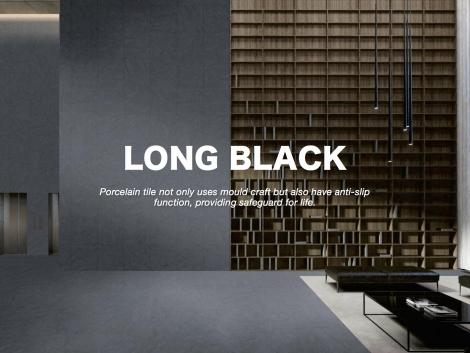 LONG BLACK-Precious Stone Series
